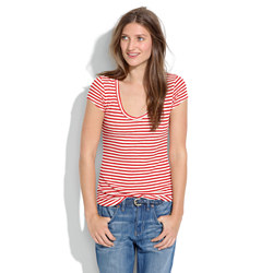 Nautical V-Neck Tee