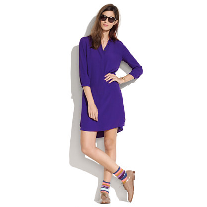 Long-Sleeve Tunic Dress