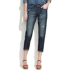 Rivet & Thread Cropped Jeans In Waterwell Wash
