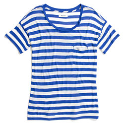 Slideshow Tee in Stripe
