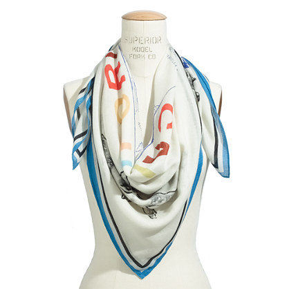 Sights & Sounds Storyteller Scarf