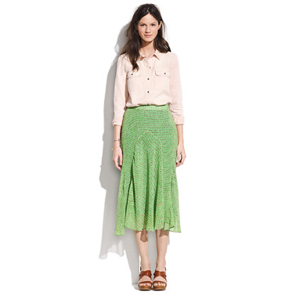 Colordot Courier Skirt