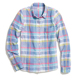 Madras Boyshirt