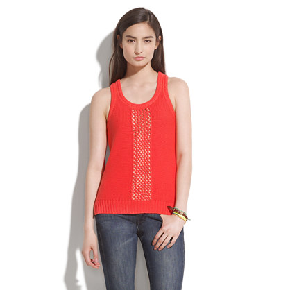 Slipstitch Sweater-Tank