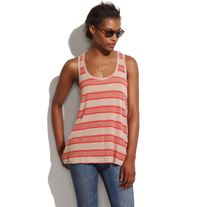 Striped Kerchief Tank
