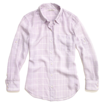 Silk Graph Paper Boyshirt