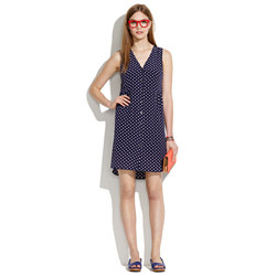 Silk Dot Dress
