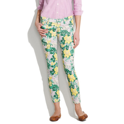 Textile Elizabeth and James® Low Rise Skinny Jeans in Tropical