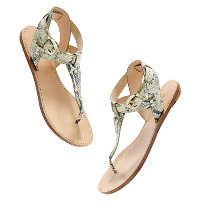 Belle by Sigerson Morrison® Randy snake Sandals