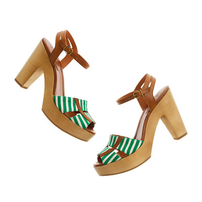 The Striped Treeline Heel