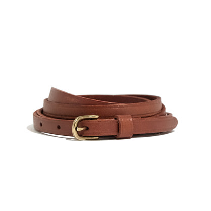 madewell leather wrap belt customer reviews product
